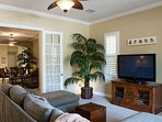 50' HDTV with Extensive DVD Library