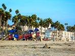 Play Area on the Beach