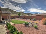 Explore Southern Utah's unique scenery in this lavish 3-bedroom, 2-bathroom La Verkin vacation rental house.