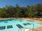 Resort Pool open from Mid. May to Mid. September just walking distance to the cabin