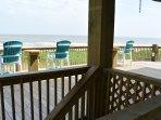 Chair,Furniture,Railing,Boardwalk,Deck