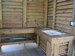 Furniture,Jacuzzi,Tub,Bench,Indoors