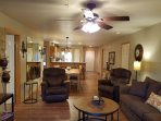3 Bedroom, 3 Bathroom Walk-in has 3 Kings, 2 Recliners, Sofa Sleeper (Sleeps 8)
