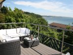 Decking Relaxation with stunning sea views