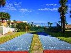 Ocean Village 4 Shuffleboard courts