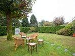 Spacious private garden