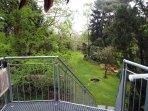 Wohnungsausgang zum Garten