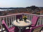 Amazing view on Adriatic sea