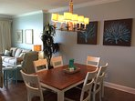 Dining area for meals and games!