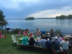 SAND BANKS PROVINCIAL PARK WATERFRONT  RESORT 5 COTTAGE (MAXIMUM 30 PEOPLE)