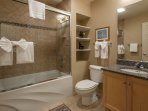 Guest Bathroom; Tub and Shower Combo