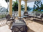 This fully air-conditioned suite affords breathtaking views from the spacious, covered balcony