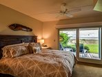 Mater Bedroom with King Bed and Ocean Views