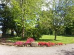 Beautiful mature gardens extending to 5 acres and coastal walks on our doorstep