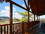 Grab your cup of morning coffee and wake up to the fresh mountain air off the main level balcony.