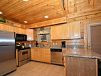 Granite Countertops witih plenty of workspace to help prepare those meals.