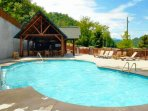 You don't have to go to far to enjoy some downtime at the resort pool (open seasonally).