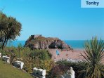 Tenby is just 3 miles away and a must visit during your stay