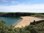 Award winning 'Barafundle' Beach is a short car journey away.