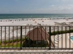 Views of beach and Gulf from private balcony