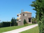 3 floor villa with large grass garden