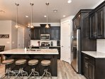 Kitchen & Kitchen Island