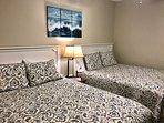 Second bedroom with 2 queen beds.