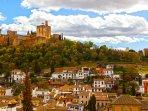 Vista de la Alhambra desde nuestra casa
