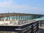 Fishing pier across from Pier Park!