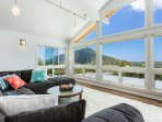 View of Koko Head from the living room.