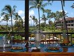Ka'anapali Royal - large main floor lanai - ideal for outdoor dining