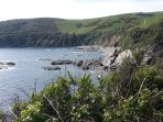 Walk and enjoy breath- taking views from the coastal path just a couple of miles away.