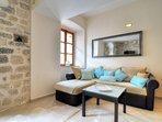 La Dolce Vita Apartment. II. Kotor. Montenegro. Old Town. Living/Dining Room