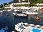 Looe is a picturesque town just 2 miles away with a golden beach and waterside resturants.