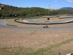 Nearby kart race track
