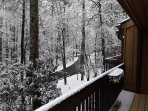 pic from back deck in winter