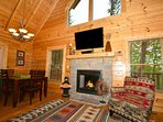 Beautiful Electric Fireplace that you can enjoy.