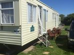 Welcome to my caravan at Ty Gwyn Caravan Park in Towyn, North Wales, any questions, please ask, Tom.