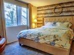Bedroom #1: King bed