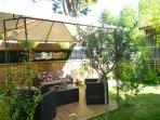 Salon de Jardin confortable et accueillant