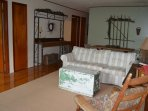 Country decor and one of a kind handmade furniture makes this unit extra special.