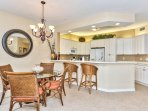 Dining Area With Seating for 4; Perfect for Home Cooked Meals!