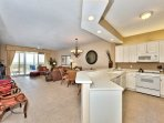 Fully Stocked Kitchen with Full Amenities; Perfect for Home Cooked Meals!