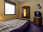 Upper 2nd Bedroom with Double Bed (Sleeps 2)