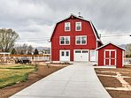 Experience the comfort of a newly remodeled Fort Collins home when you stay at this luxurious barn-shaped vacation...