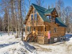 Escape to this secluded Palmer vacation rental home for a relaxing getaway.