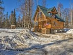 You'll love the peaceful surroundings of this mountain home.