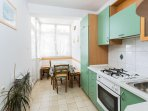 Ivana (6+2): kitchen and dining room