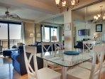 Dining Area with Ocean Views!