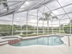 Enjoy all that Kissimmee has to offer from this 6-bedroom, 4-bathroom vacation rental house with a private pool!